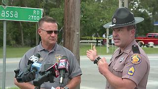 Deputies search for armed carjacking suspect | News conference April 25 - Video