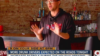 Thanksgiving Eve means beefed-up drunken driving patrols in Ohio, Kentucky, Indiana - Video