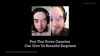 Pics That Prove Genetics Can Give Us Beautiful Surprises - Video