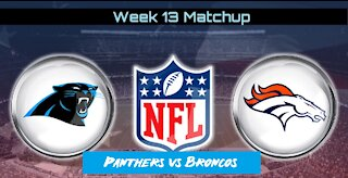 Panther Prowl Week 14 Preview: Broncos vs Panthers