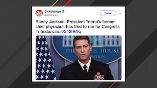 Former White House Physician Ronny Jackson Files To Run For Congress