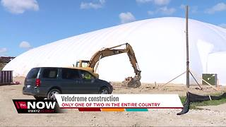 Velodrome under construction in Detroit - Video