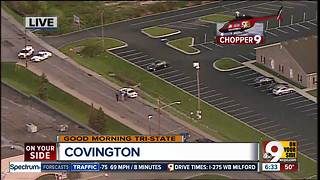 Police activity at 43rd and Winston in Covington - Video