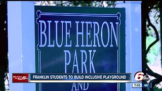 Inclusive playground project for children coming to Franklin - Video