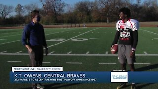 FNL Player of the Week: KT Owens, Central High School