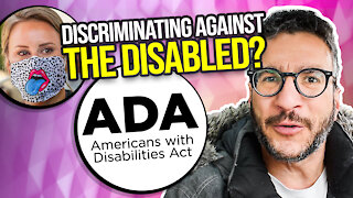 Lawsuit Alleging Mask Policies Discriminate Against the Disabled - Viva Frei Vlawg