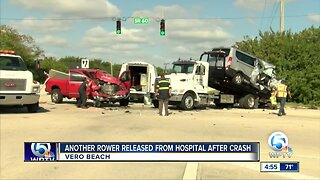 Another rower released from hospital after Vero Beach crash