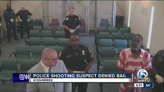 Kissimmee shooting suspect denied bail, vigil held for deceased officers - Video