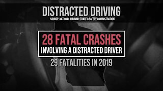 Distracted driving crashes on the rise