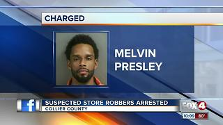 Third Person Arrested in Collier County Robberies
