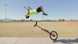 This 12-Year-Old Prodigy Performs Amazing Stunts - Video