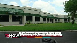 Brandon area getting more deputies on streets - Video