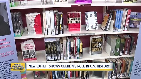 Exhibits highlights Oberlin's contributions to U.S. history