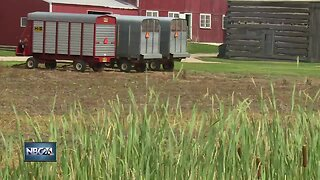Cold spring, hot summer for local farmers