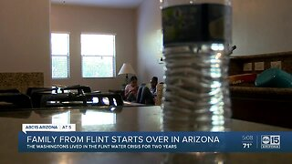 Family relocates to Goodyear due to Flint water crisis