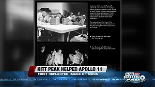 Kitt Peak helped with the Apollo 11 mission