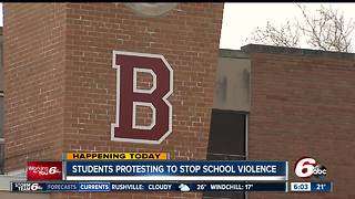 Central Indiana students to participate in National Walkout on March 14 - Video