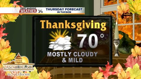 FORECAST: Moisture stays north for Thanksgiving