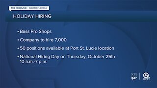 Bass Pro Shops hiring at their Port St. Lucie location