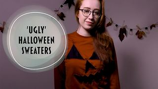 Get spooky with our haunted Halloween sweater tutorial - Video