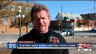 Tulsa Fire Department outlines space heater safety after multiple fires in past few days