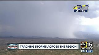 Storm moving into Lake Pleasant forces boat-goers home - Video