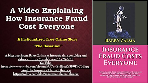 A Video Explaining How insurance Fraud Cost Everyone