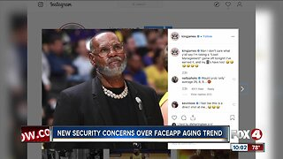 Security concerns over FaceApp aging trend