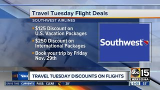 Travel deals to take advantage of!