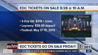 EDC tickets going on sale Sept. 28
