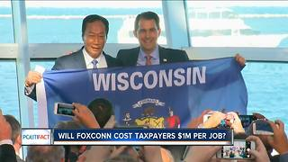 PolitiFact Wisconsin: How much will Foxconn cost taxpayers? - Video