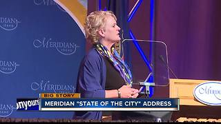 Meridian mayor highlights economic growth in State of the City Address