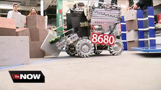 Homestead High School's Robotics team among best in the world - Video