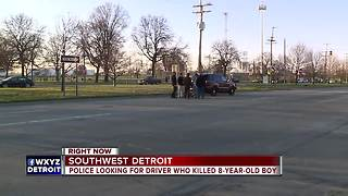8-year-old boy killed in hit-and-run; Police searching for driver - Video