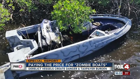 Derelict vessels create danger and taxpayer burden in Southwest Florida