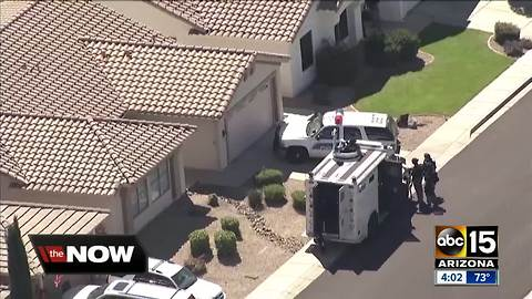 Man in custody after barricade situation in north Phoenix