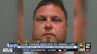 Tyler Tessier indicted by a grand jury in the murder of his pregnant girlfriend - Video