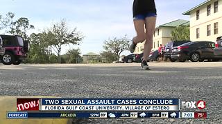 Two Sexual Assault Cases at Florida Gulf Coast University Conclude