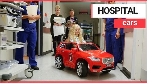 Hospital provides children with cars on the ward