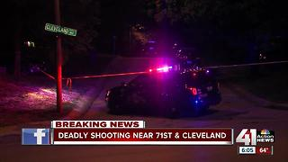 Man dies after shooting early Monday morning - Video