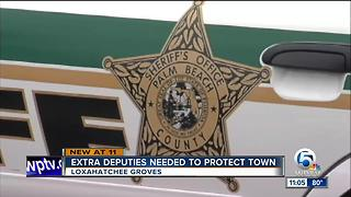Sheriff's doubling cost to serve Loxahatchee Groves, so how do they pay for it? - Video