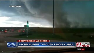 Pictures and videos captured from Sunday night storm around Lincoln