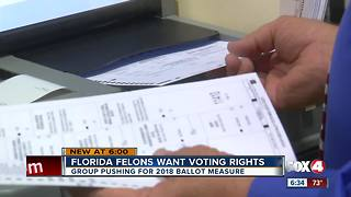 Advocacy group wants to give felons voting rights