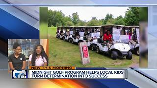 Midnight Golf Program Helps Local Kids Turn Determination into Success - Video