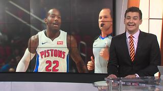 Kay Felder makes his Pistons debut - Video