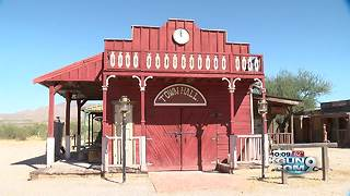 Gammons Gulch: An old west town with only two residents - Video
