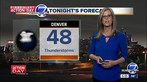 Snow in Colorado just in time for first day of summer, with storms in afternoon