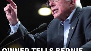 Bernie Sanders Confronted With Truth About Obamacare