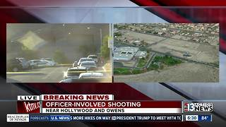 Update on shooting involving Vegas police