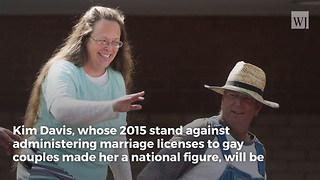 Kentucky Clerk Jailed for Refusing to Issue Same-Sex Marriage Licenses Will Seek Re-Election - Video